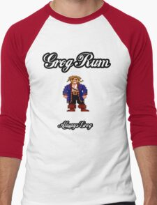 Monkey Island Grog Rum Men's Baseball ¾ T-Shirt