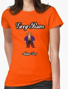 Monkey Island Grog Rum Womens Fitted T-Shirt