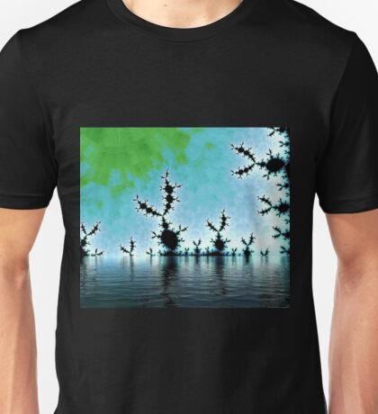 Alien Bunnies Migration Unisex T-Shirt