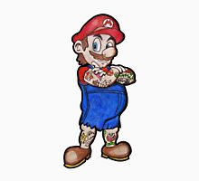 Tattooed Mario Unisex T-Shirt