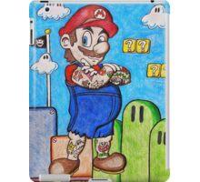 Tattooed Mario iPad Case/Skin