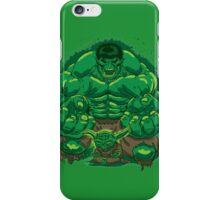 Hulk and Yoda iPhone Case/Skin
