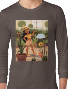 Bumble Bee Witch Long Sleeve T-Shirt