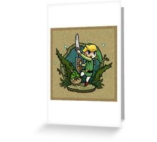Zelda Wind Waker Forbidden Woods Temple Greeting Card