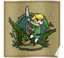 Legend of Zelda Wind Waker Forbidden Woods Temple T-Shirt Poster
