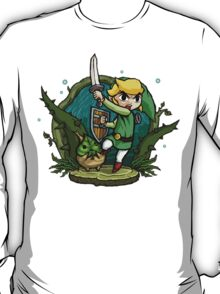 Legend of Zelda Wind Waker Forbidden Woods Temple T-Shirt T-Shirt