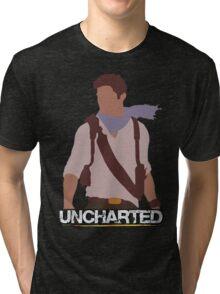 Uncharted - Minimalist Art Tri-blend T-Shirt
