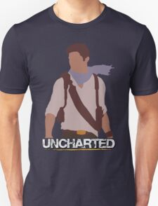 Uncharted - Minimalist Art Unisex T-Shirt