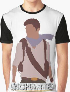 Uncharted - Minimalist Art Graphic T-Shirt