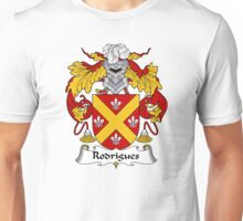 Rodrigues Coat of Arms/Family Crest Unisex T-Shirt