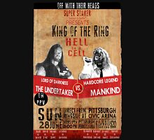 King of the Ring Vintage Wrestling Poster. Hell in the Cell 1998 Unisex T-Shirt