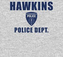 Hawkins Indiana Police Department Shield Unisex T-Shirt