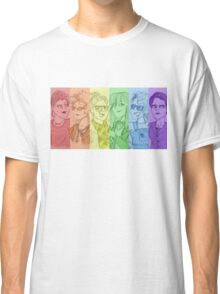 Rainbow Ghostbusters (Without Text) Classic T-Shirt