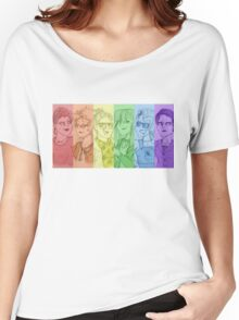 Rainbow Ghostbusters (Without Text) Women's Relaxed Fit T-Shirt
