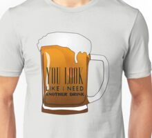 Funny Cool Flirting Pick Up Drunk Joking Design Unisex T-Shirt