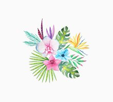 Tropical Watercolor Bouquet 3 Unisex T-Shirt
