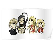 Soul Eater girls Poster