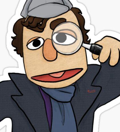 Muppet Sherlock Sticker