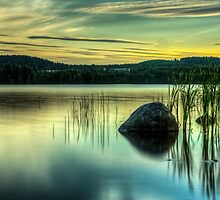 Sunset rock by macsphotography