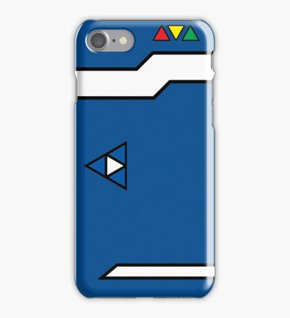 Index Computer -Blue iPhone Case/Skin