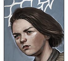 Game of Thrones - Arya Stark by mygrimmbrother