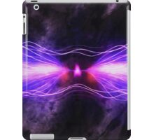 Mauve Waves of Sound iPad Case/Skin