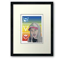 Pokemon Michael Framed Print