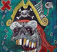 Pirate Treasure Map by Laura Barbosa