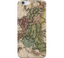Vintage Map of Asia (1805) iPhone Case/Skin