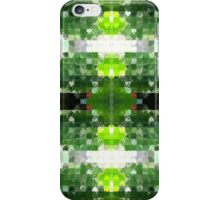 Bright Green Tiles iPhone Case/Skin