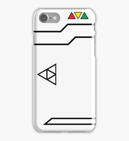 Index Computer -White iPhone Case/Skin
