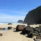 Rocks On Tolsta Beach by BlueMoonRose