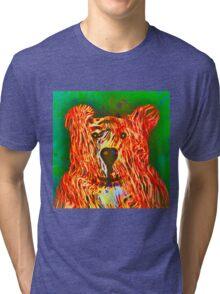 Teddy Bear Tri-blend T-Shirt