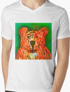 Teddy Bear Mens V-Neck T-Shirt