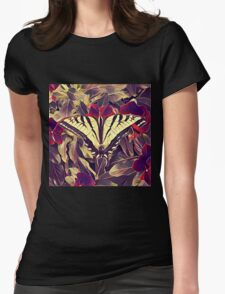 Butterfly K1 Womens Fitted T-Shirt