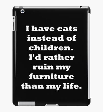 Cats vs Children #2 iPad Case/Skin