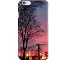Winter Morning Sunrise  iPhone Case/Skin