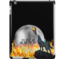 I'm just bad, bad, bad for you iPad Case/Skin