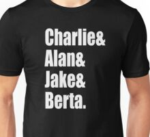 Two And A Half Men Cast Unisex T-Shirt