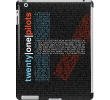 twenty one pilots iPad Case/Skin