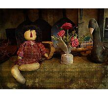 Primitive doll Photographic Print