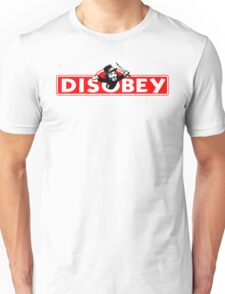 Monopoly Game Parody - Guy Fawkes Disobey Unisex T-Shirt