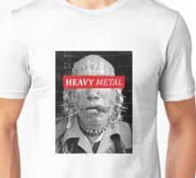 Heavy metal man piercings Unisex T-Shirt