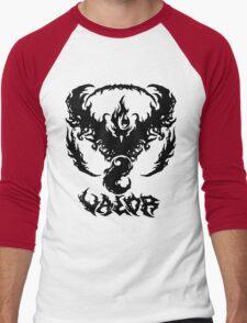 Brutal Team Valor - Black Men's Baseball ¾ T-Shirt