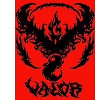 Brutal Team Valor - Black Photographic Print
