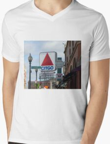 Citgo Sign At Fenway Park Mens V-Neck T-Shirt