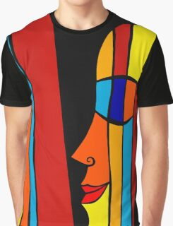 Date with rainbow Graphic T-Shirt
