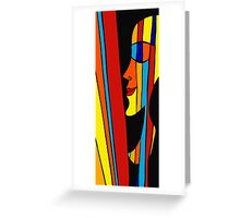 Date with rainbow Greeting Card