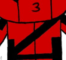 Kissy Deadpool! Sticker
