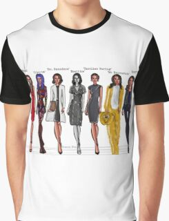 Amy Acker characters Graphic T-Shirt